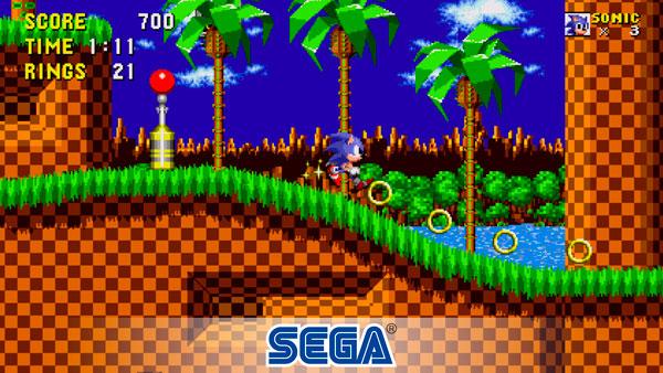 Sega Forever regala juegos para tu Teléfono Sonic The Hedgehog