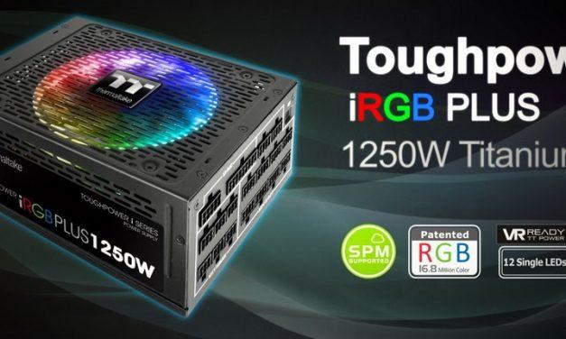 Lo más nuevo de Thermaltake: Toughpower iRGB PLUS 1250W – TT Premium Edition