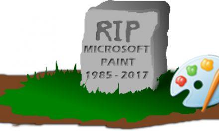 Microsoft retira Paint luego de 32 años de servicio