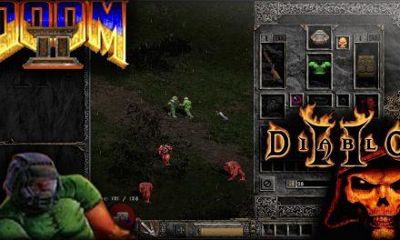 Doomiablo: Doom 2 más Diablo 2