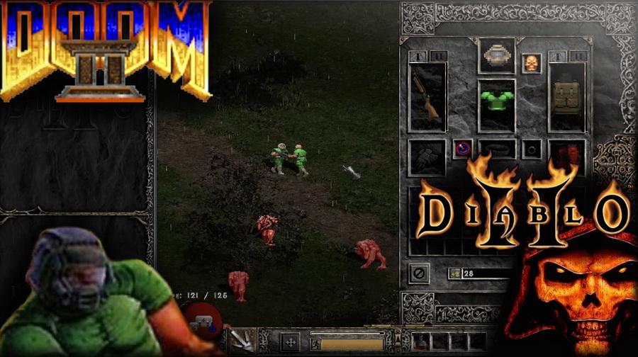 Doomiablo Doom 2 mas Diablo 2