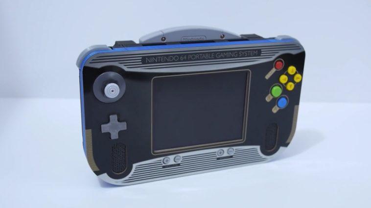 Logran fabricar una Nintendo 64 portátil