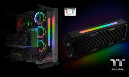 Thermaltake Pacific RL360 Plus RGB es el primer radiador con luces LED