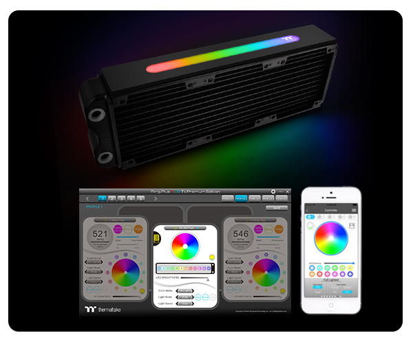 Thermaltake presenta el Pacific RL360 Plus RGB