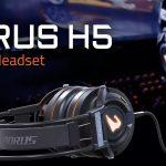 Nuevos auriculares gaming AORUS H5 de Gigabyte