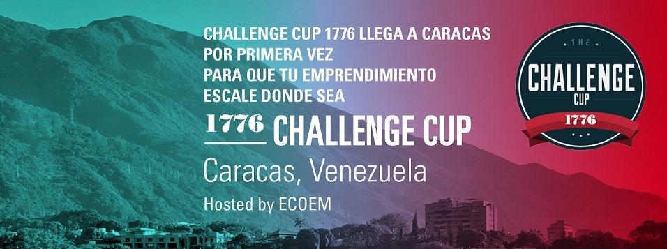 Challenge Cup 1776 Caracas, competencia internacional de emprendimiento