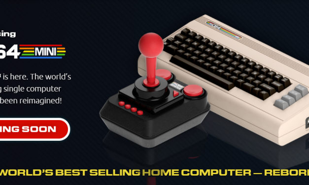 Sigue la moda Mini con la Commodore 64