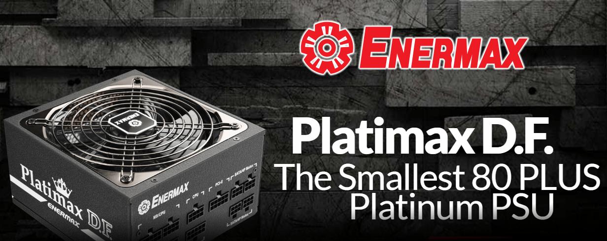 Enermax lanza la fuente de alimentación Platimax DF de 1200W