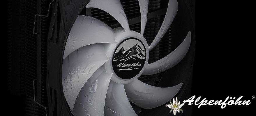 Alpenföhn presenta su disipador para CPU Ben Nevis Advanced Black RGB