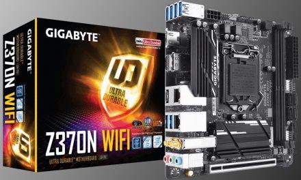 Gigabyte lanza su placa base Z370N WIFI