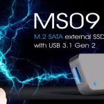 El SilverStone MS09C convierte tu SSD M.2 en una unidad flash USB 3.1