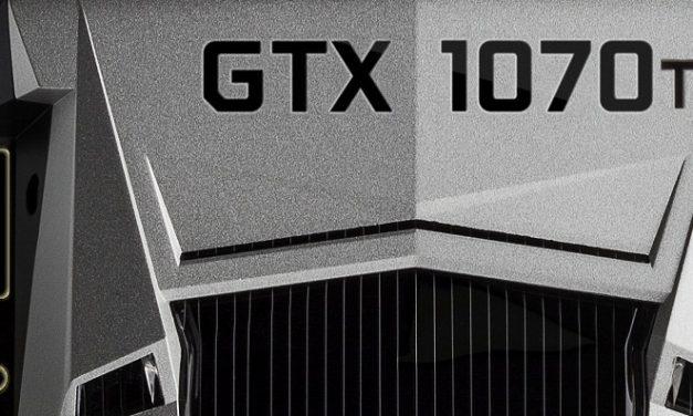Filtradas las especificaciones de la GeForce GTX 1070 Ti
