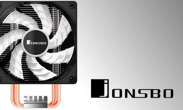 Jonsbo presenta su disipador para CPU CR-601 RGB