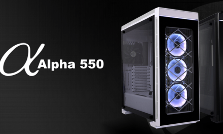 Lian-Li agrega RGB a su alineación con el chasis Alpha 550