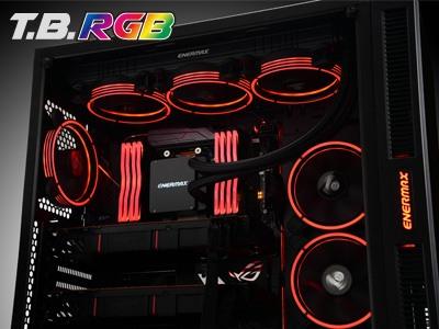 Enermax lanza sus ventiladores T.B. RGB