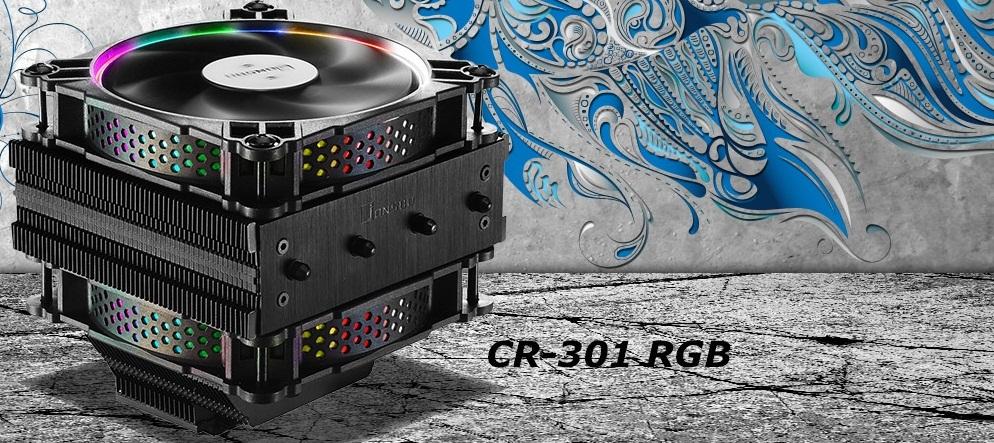 Nuevo enfriador para CPU CR-301 RGB de Jonsbo